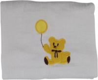 Belle Maison Cotton Baby Towel (Kids Bath Towel, White) - BTWE7FGESEEDGDQ5
