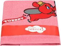 Imagica Imagica Cotton Bath Towel (1, Pink)