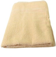 MeSleep Beige Cotton Multi-purpose Towel (1 Hand Towel, Beige)