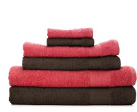 Swiss Republic Cotton Set Of Towels 2 Bath Towels, 2 HandTowels, 2 Face Towels, Pink, Brown