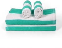 Cortina Cotton Bath & Hand Towel Set 2PC Hand Towel Set, 2PC Bath Towel Set, Light Green - BTWEJDRTNYHWCEZD