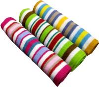 Home Cotton Bath Towel 3 Piece Bath Terry Towels, Multicolor
