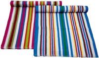 ShopSince Cotton Bath Towel Multicolor Cotton Bath Towel - Set Of 2, Multicolor