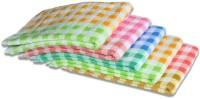 ShopSince Cotton Hand Towel ShopSince Multicolor Checks Cotton Hand Towels Set Of 5, Multicolor