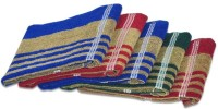 ShopSince Cotton Hand Towel ShopSince Multicolor Stripes Cotton Hand Towels Set Of 5, Multicolor