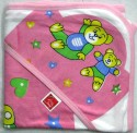 Love Baby Baby Bath Towel