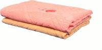 JASS HOME DECOR Cotton Bath Towel Set Of 2 Bath Towels, Pink, Orange