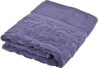 Divine Overseas Cotton Bath Towel (One Piece Bath Towel, Navy Blue) - BTWEHBBZPKDRKGHH