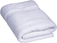 ShopSince Cotton Bath Towel White Plain Cotton Bath Towel, White