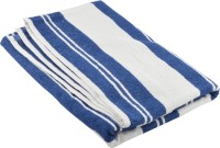 Soft Touch Cotton Bath Towel 3 Set Of Bath Towels, Navy Blue, White