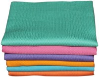 Cotton Colors Cotton Bath Towel Set 6 Bath Towels, Multicolor