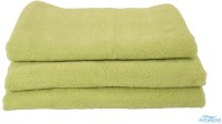 Softweave Cotton Hand Towel Set 3 Hand Towels, Green