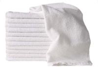 ShopSince Cotton Hand Towel ShopSince Premium Hand Towel Set Of 12, White