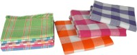 Tks Cotton Bath & Hand Towel Set, Bath, Hand & Face Towel Set 3 Bath Towels, 6 Hand Towels, Orange