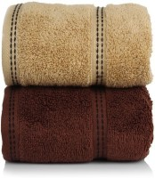 CLOTH FUSION Cotton Hand Towel Set Of 2 Hand Towels, Multicolor - BTWEH2S73QHGAMHS