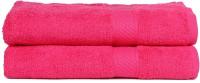 Trident Cotton Set Of Towels 2 Women Bath Towel, Pink