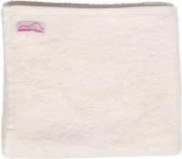 Mumma's Touch Blended Baby Towel (Organic Cotton And Bamboo Baby Wash Towel - Set Of 2, Off-White)