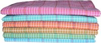 AT Cotton Bath Towel 6 Multicolor Bath Towel, Blue, Dark Blue, Green, Dark Green, Orange, Yellow