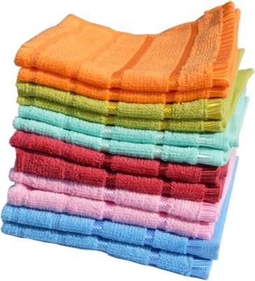 akincolour cotton bath towels set of 7 price