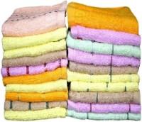 Z Decor Cotton Hand Towel Set 20 Face Towel, Multicolor