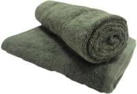 Khushal Cotton Bath Towel Set 2 Bath Towel, Green