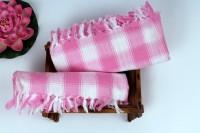 Aransa Cotton Set Of Towels Bath Towel, Pink