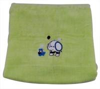 Belle Maison Cotton Baby Towel (Kids Bath Towel, Green)