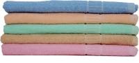 Lily Bath Towel Cotton Bath Towel (5 Bath Towels, Multicolor)