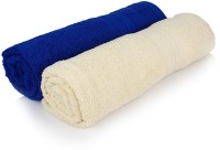 Cloth Fusion Cotton Bath Towel 2 Full Size 100% Cotton Bath Towel Size 30 InchesX60 Inches Or 75 Cm 150cm, Blue