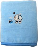 Belle Maison Fancy Cotton Baby Towel (Kids Bath Towel, Blue) - BTWE7FGETWAWRSEC