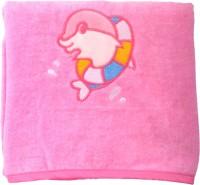 Belle Maison Cotton Baby Towel (Kids Bath Towel, Pink)