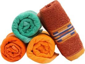 Homeshopeez Cotton Hand Towel Set