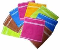 ShopSince Cotton Face Towel Multicolor Cotton Face Towel Set Of 20, Multicolor