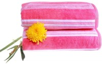 Shoppingtara Soft Cotton 100% Cotton, Bath Towel (Bath Towel, Pink)
