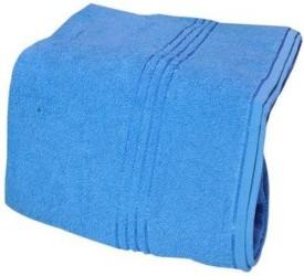 V Brown Cotton Bath Towel
