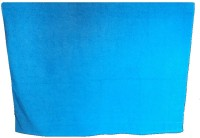 Amita Home Furnishing Plain Cotton Bath Towel 1 Bath Towel, Blue