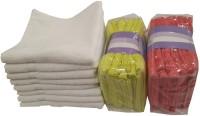 Valtellina Cotton Hand & Face Towel Set 20 Face Towels, White
