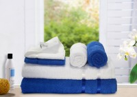 Story@home Cotton Bath, Hand & Face Towel Set 2 Pc Bath Towel, 2 Hand Towel, 2 Face Towel, White