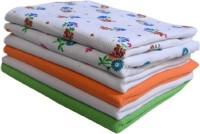 Cotton Colors Cotton Bath Towel 6 Bath Towels, Multicolor