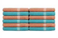 Swiss Republic Cotton Face Towel 12 Face Towel, Light Blue, Light Pink