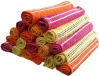 ShopSince Cotton Face Towel Multicolour Cotton Face Towel Set Of 20, Multicolor