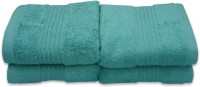Divine Overseas Cotton Hand Towel Set 4 Piece Premium Hand Towel Set, Green