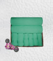 Stellar Home USA Cyrstal Cotton Bath, Hand & Face Towel Set 2 Bath Towel & 2 Hand Towel & 4 Face Towel, Blue