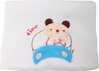 Belle Maison Cotton Baby Towel (Kids Bath Towel, White)