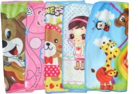 Cruxhunter Blended Hand & Face Towel Set (Set Of 5 Cartoon Character Hand Towel, Multicolor)