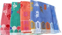 Mandhania Terry Cotton Bath Towel 4 Bath Towels, Multicolor