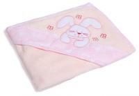 Baby Bucket Cotton Bath Towel (Baby Bath Towel, Pink)