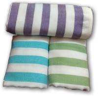 Cotton Colors Cotton Bath Towel, Set Of Towels 3 Bath Towels, Multicolor