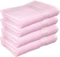Juvenile Cotton Bath Towel Set, Bath Towel, Hair Towel, Multi-purpose Towel, Pool/Beach Towel, Sports Towel, Set Of Towels 4 Pcs Of Towel, Pink