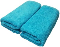 Alaska Cotton Hand Towel Set 2 Piece Of Hand Towel (40x20 Inches), Light Blue